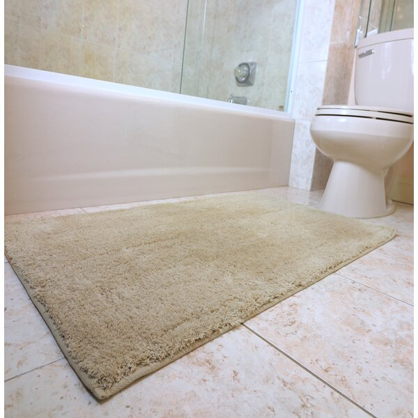 Engelman Luxury Latex Micro Fiber Bath Rug by Ebern Designs