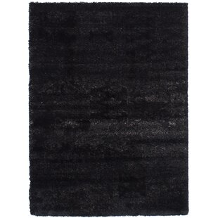 Online Reviews Decarlo Black/Dark Gray Area Rug By17 Stories