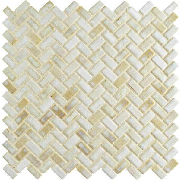 Arcadia 11.63 x 11.63 Porcelain Mosaic Floor and Wall Tile in Glacier by EliteTile