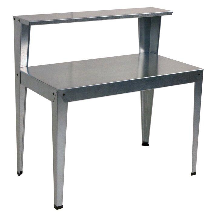 Galvanized Steel Potting Bench