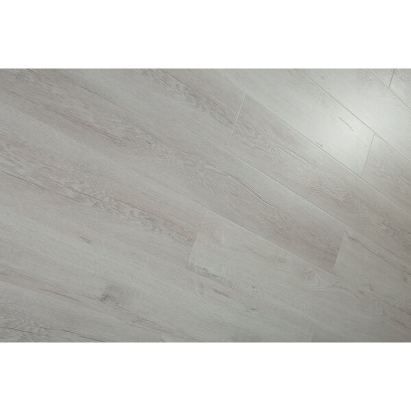 Forest Park 7 x 49 x 12mm Laminate Flooring in Gray (Set of 4) by Christina & Son
