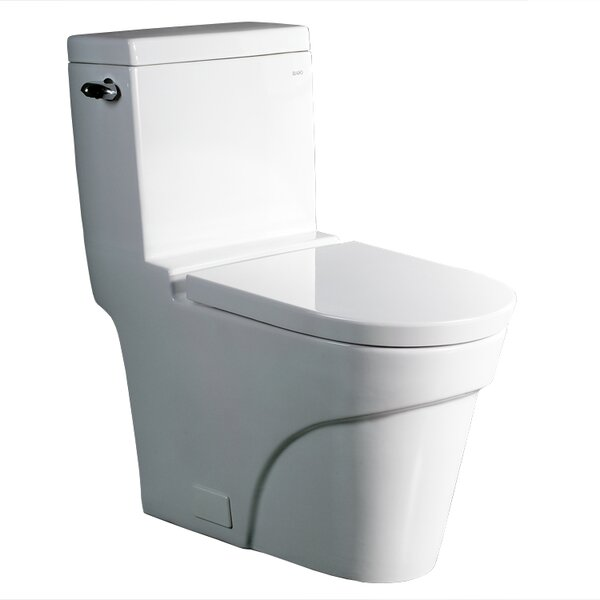 Oceanus Contemporary 1.6 GPF Elongated One-Piece Toilet by Ariel Bath