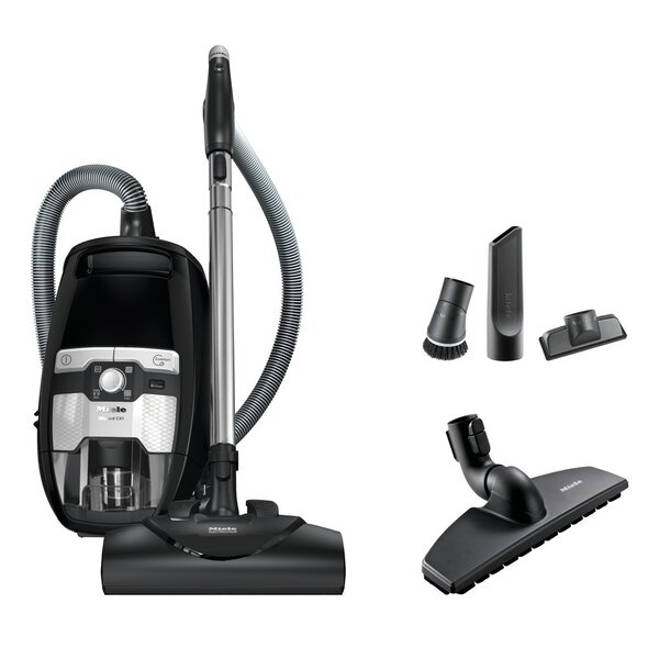 Blizzard CX1 Electro Bagless Canister Vacuum by Miele