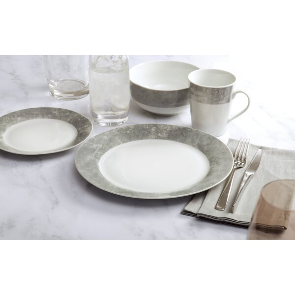 Tia 16 Piece Dinnerware Set, Service for 4 by Ebern Designs