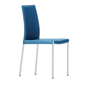 Nuvola Genuine Leather Upholstered Dining Chair