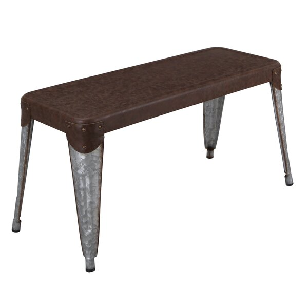 Rena Stackable Industrial Bench by Williston Forge