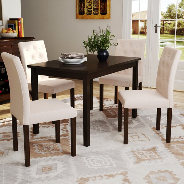 Wadsworth 5 Piece Dining Set by Red Barrel Studio