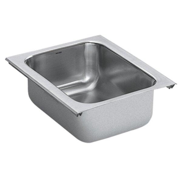 1800 Series Single Bowl Kitchen Sink by Moen