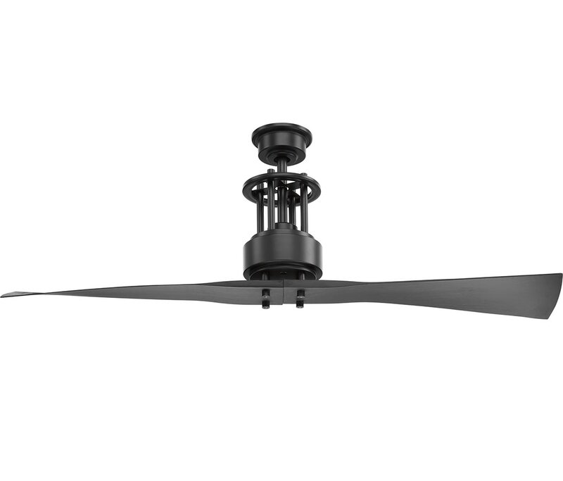 56 Hilyard 2 Blade Ceiling Fan With