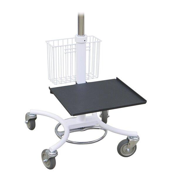 Printer Shelves for AV Cart by Omnimed