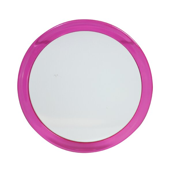 Pink Suction Bathroom/Vanity Mirror by Danielle Creations