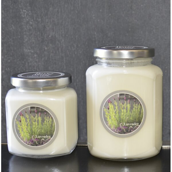 Artisan Lavender Jar Candle by Baxter Manor