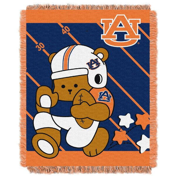 Collegiate Auburn Baby Throw by Northwest Co.
