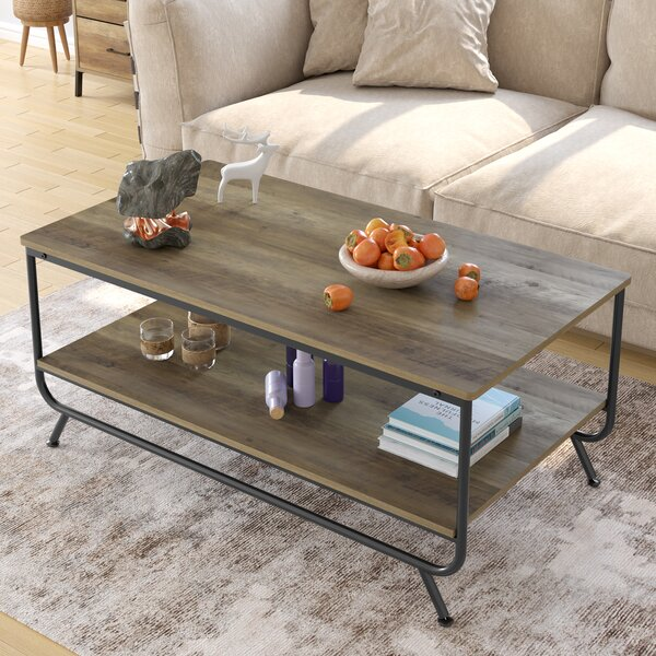 Sowa Coffee Table With Storage By Union Rustic