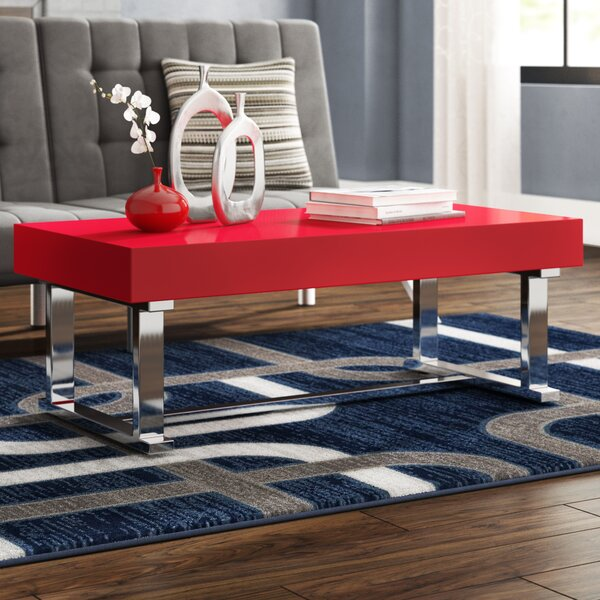 Arabella Contemporary Coffee Table by Wade Logan