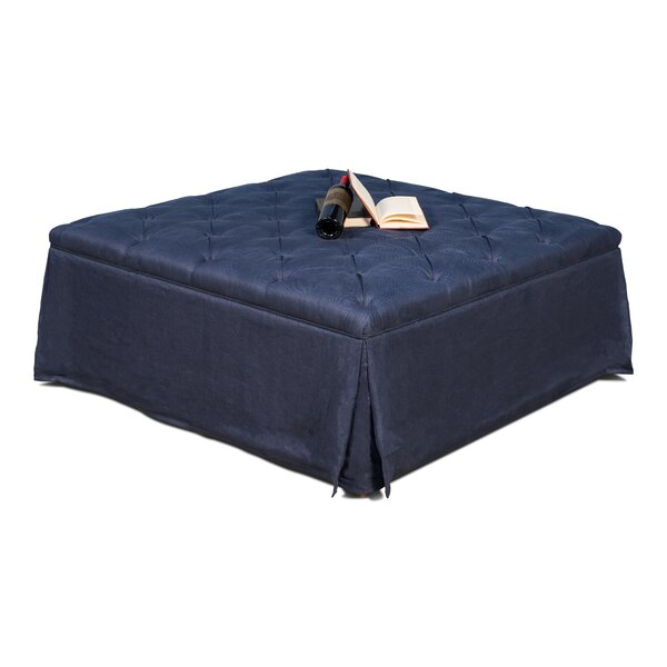 Launcest Tufted Cocktail Ottoman by Darby Home Co