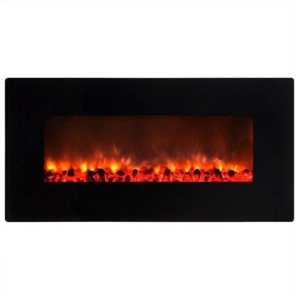 Dedeaux Little Heater Wall Mounted Electric Fireplace by Orren Ellis