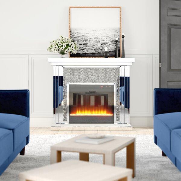 Abdiel Electric Fireplace By Rosdorf Park