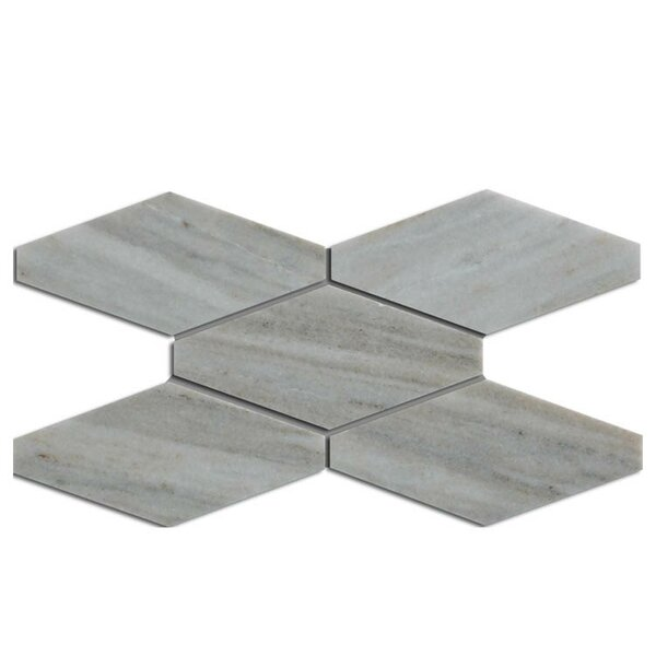 Hexagon Natural Stone Mosaic Tile in Palissandro by QDI Surfaces