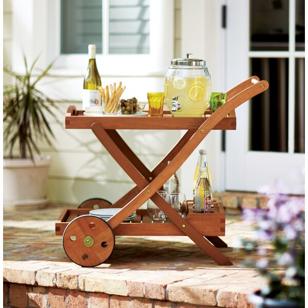 Oakport Serving Cart by Beachcrest Home