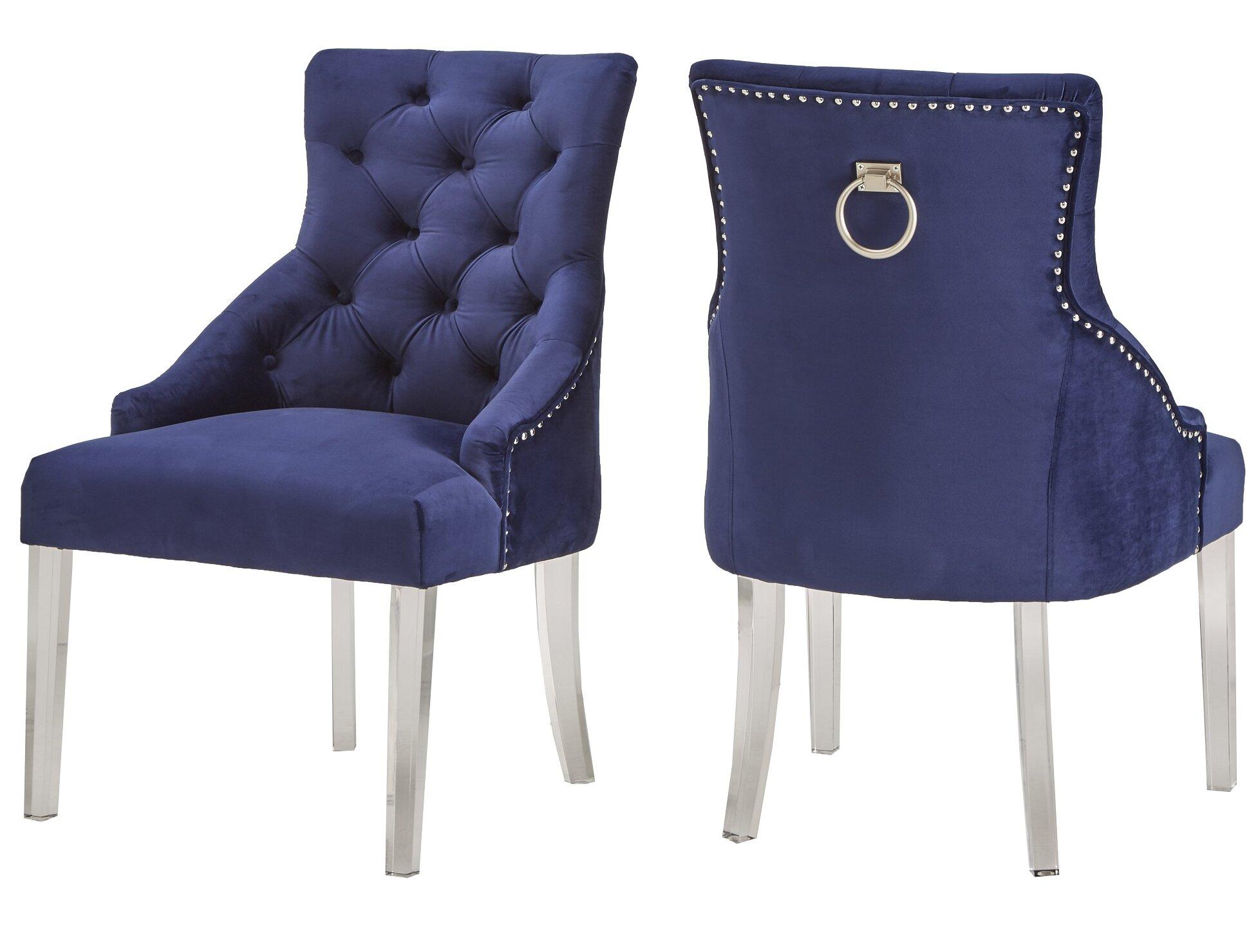 Rosdorf Park Seville Upholstered Dining Chair Reviews Wayfair