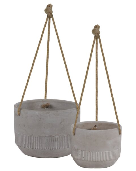 Susannah 2-Piece Cement Pot Planter Set by Gracie Oaks