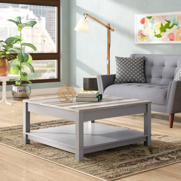 Zahara Coffee Table with Storage by Andover Mills Andover Mills