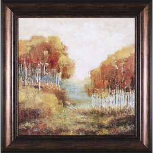Weathered Scape II Framed Painting Print by Art Effects