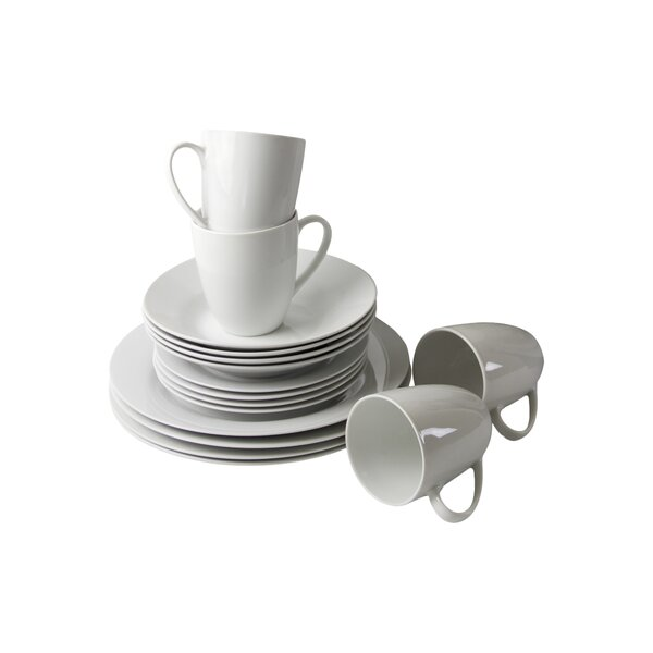Brendel 16 Piece Dinnerware Set, Service for 4 by Charlton Home