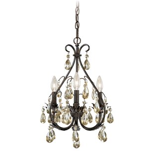 Looking for Leclerc 3-Light Candle Style Chandelier By Lark Manor