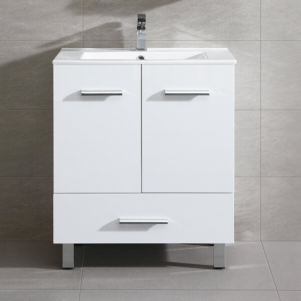 Kasen 35 Single Bathroom Vanity Set by Wade Logan