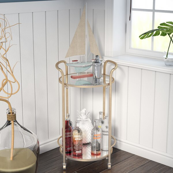 Bryanna Bar Cart by Beachcrest Home