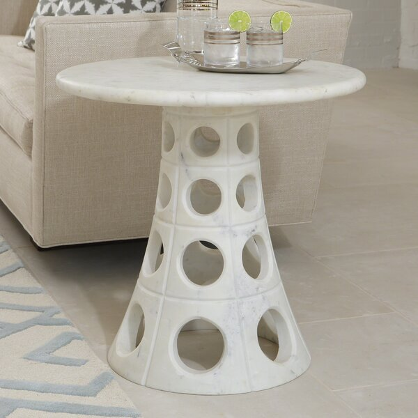 Taper Circle End Table