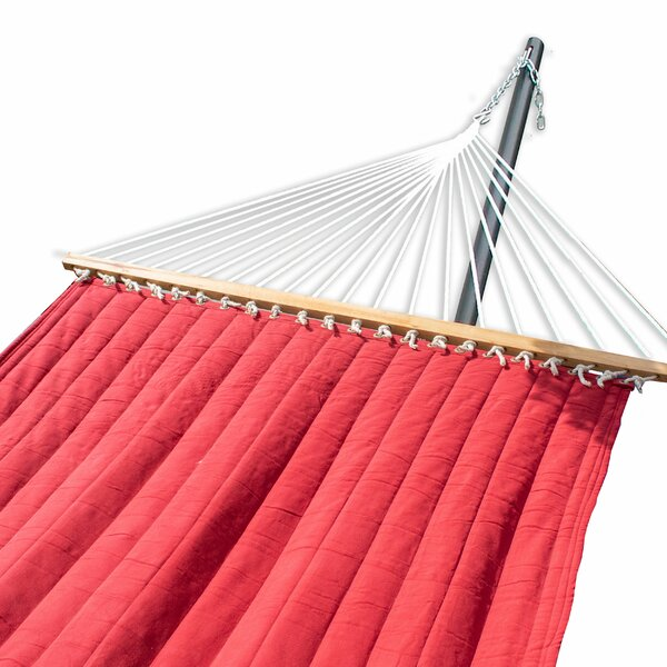 Hansford Quilted Quick Hang Portable Camping Hammock by Fleur De Lis Living