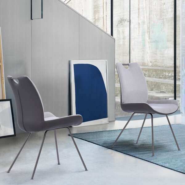 Gorecki Upholstered Dining Chair (Set of 2) by Orren Ellis