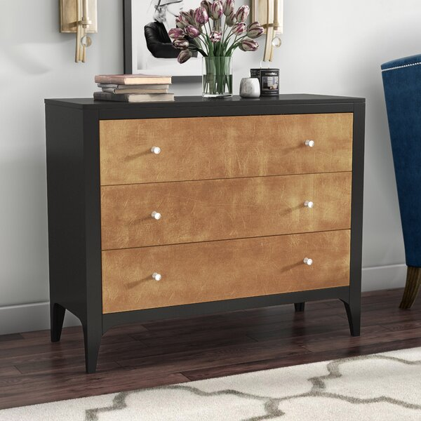 Signe 3 Drawer Chest by Willa Arlo Interiors