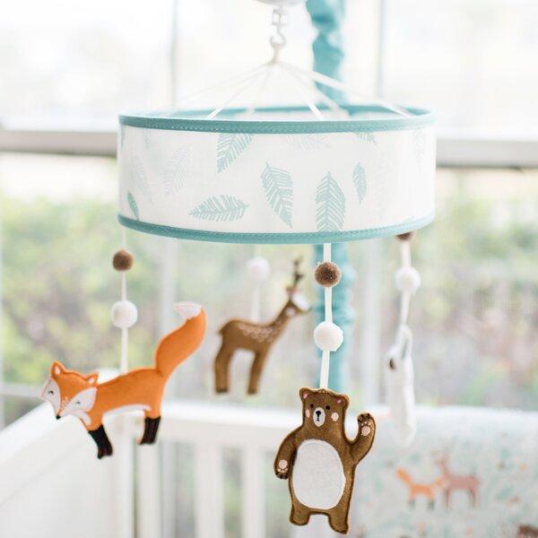 Baby Mobile Owl crib mobile Nursery Natural Baby Neutral Gender Baby Mobile Green Nursery Woodland Mobile Girl Boy Moon and Stars Mobile