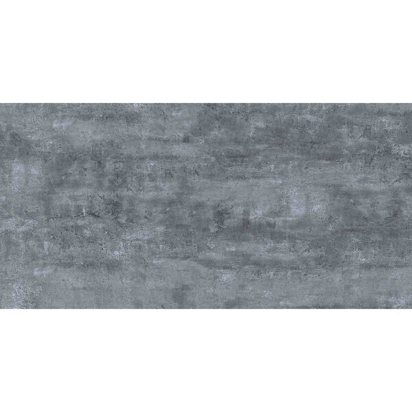 Thin Porcelain 23.6 x 11.8 Porcelain Field Tile in Midnight Gray by Abolos