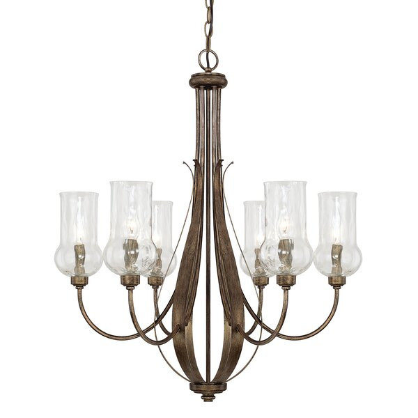 Lea 6-Light Shaded Chandelier by Astoria Grand