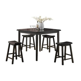 Find Porterdale 5 Piece Counter Height Dining Set ByWinston Porter