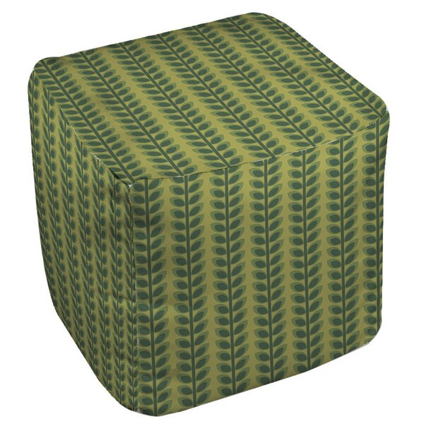 Tropical Breeze Pouf by Manual Woodworkers & Weavers