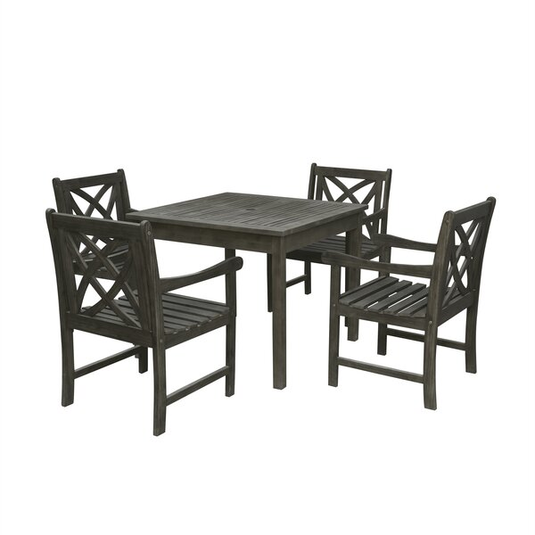 Shelbie 5 Piece Patio Dining Set by Sol 72 Outdoor Sol 72 Outdoor