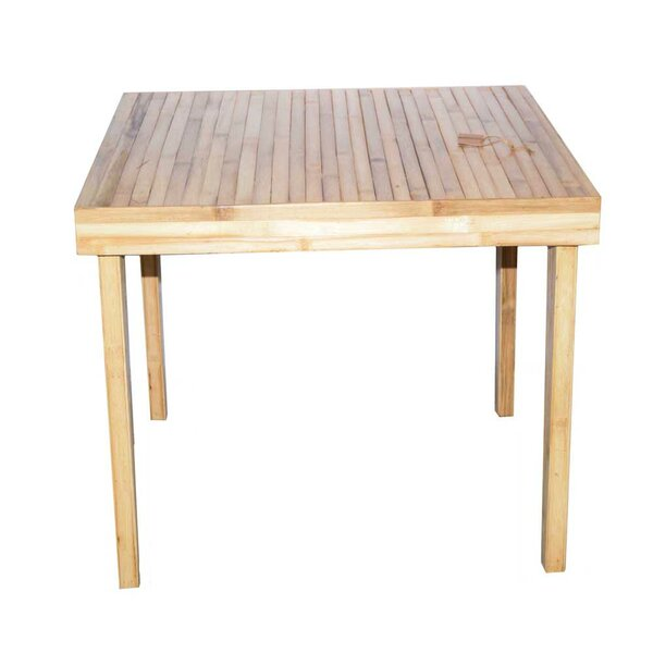 Dauphin Solid Wood Dining Table by World Menagerie World Menagerie