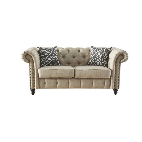 Irenee Loveseat with Pillow by Lark Manor