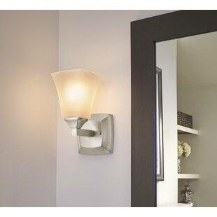 Affordable Price Voss 1-Light Bath Sconce ByMoen