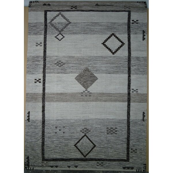 Cahone Egret/Moon Rock Area Rug by Loon Peak