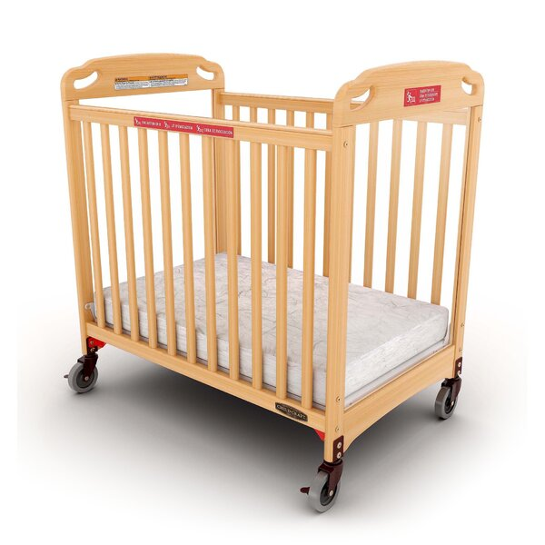 Safe Haven Professional Series Evacuation Compact Crib with Mattress by Child Craft