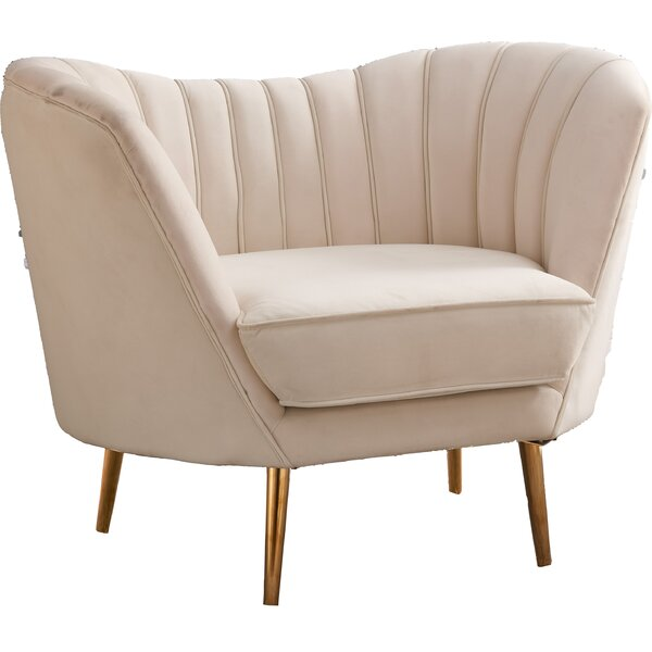 Koger Barrel Chair by Everly Quinn