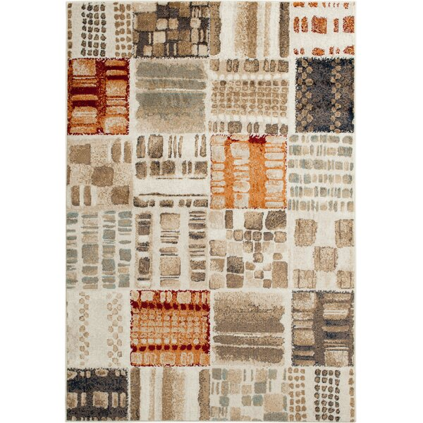 Rattlesnake Hill Buena Vista Ivory Area Rug by Bungalow Rose