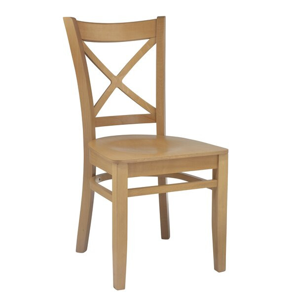 Wanamaker Solid Wood Dining Chair (Set of 2) by Charlton Home